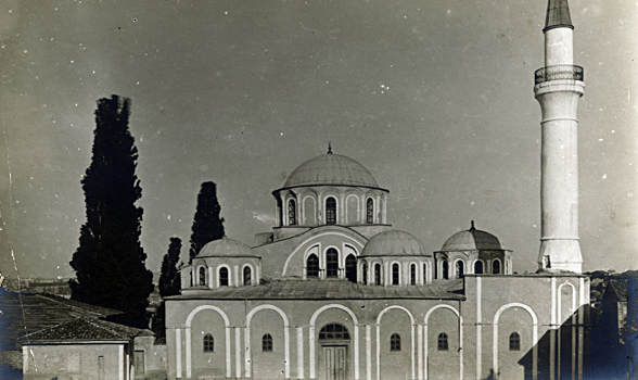 Church of the Monastery of Korah, exterior view