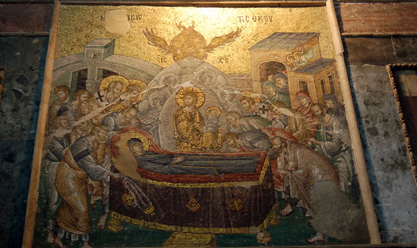 Mosaic of the Dormition