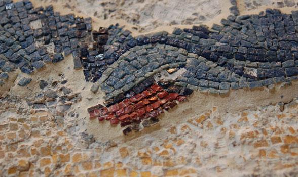 Chora Mosaic Detail