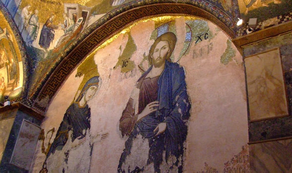Esonarthex Mosaics: Deesis