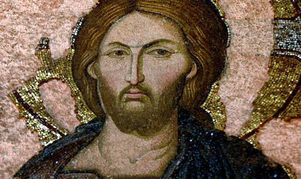 Deesis Detail: Christ
