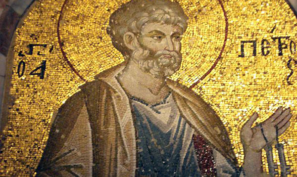 Mosaic of St. Peter