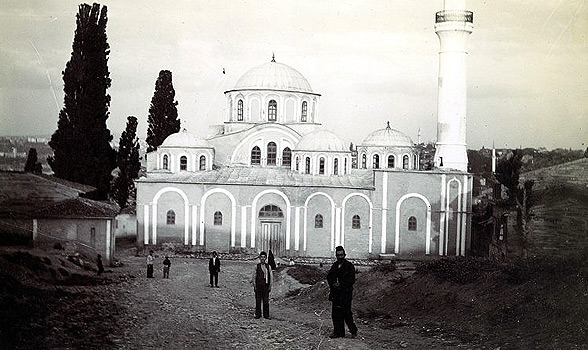 Chora Church in 1903