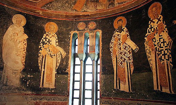 Chora mosaics and frescoes